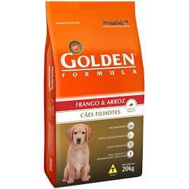 Ração Golden Frango e Arroz Cães Filhotes 15K