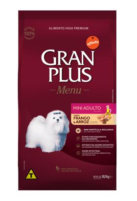 Ração Granplus Adulto Mini sabor Frango e Arroz 15k
