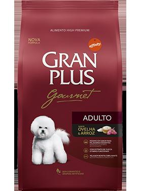 Ração Granplus  Gourmet Adulto Sabor Ovelha e Arroz 15k