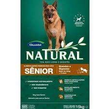 Ração Guabi Natural Cães Adultos Raças Grandes e Gigantes Senior - 15kg