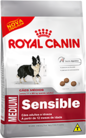 Ração Royal Canin Medium Sensible 15 k