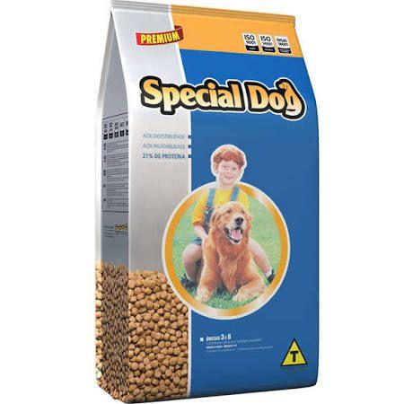Ração Special Dog Premium Carne para Cães 20 Kg