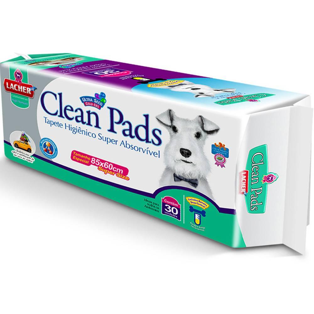 Tapete Higiênico São Francisco Clean Pads c/ 30 Unidades