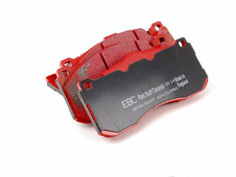 Pastilha de Freio Dianteira EBC Redstuff BMW 135