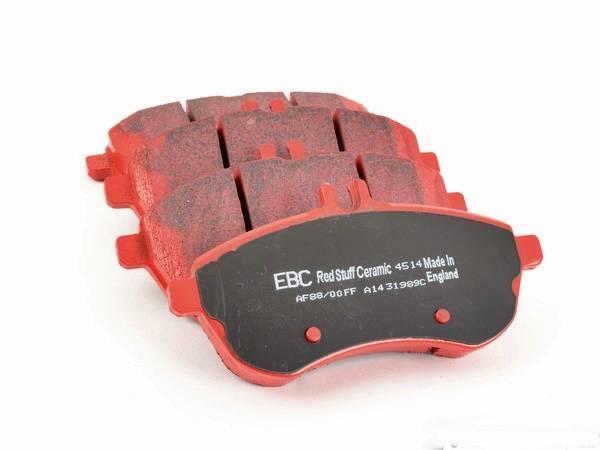 Pastilha de freio Dianteira Ebc Redstuff Mercedes  C180 C 200 C 250 C 300