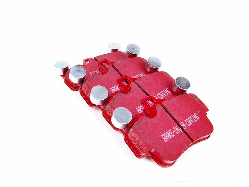 Pastilha de Freio Dianteira EBC Redstuff Porsche Boxster