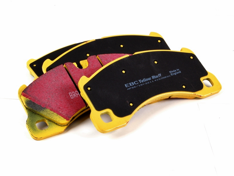 Pastilha de freio Dianteira Ebc Yellowstuff Porsche Cayene 4.8 Turbo S