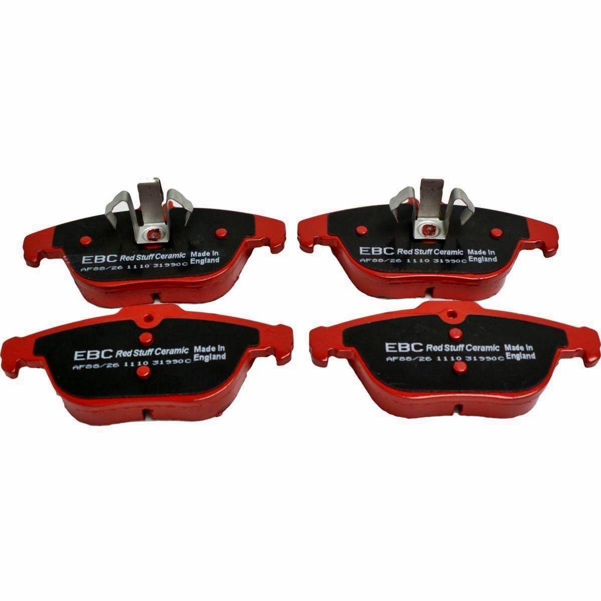 Pastilha de freio Ebc Redstuff Traseira C 180 C200 C 220 C250 C280 C300 C320