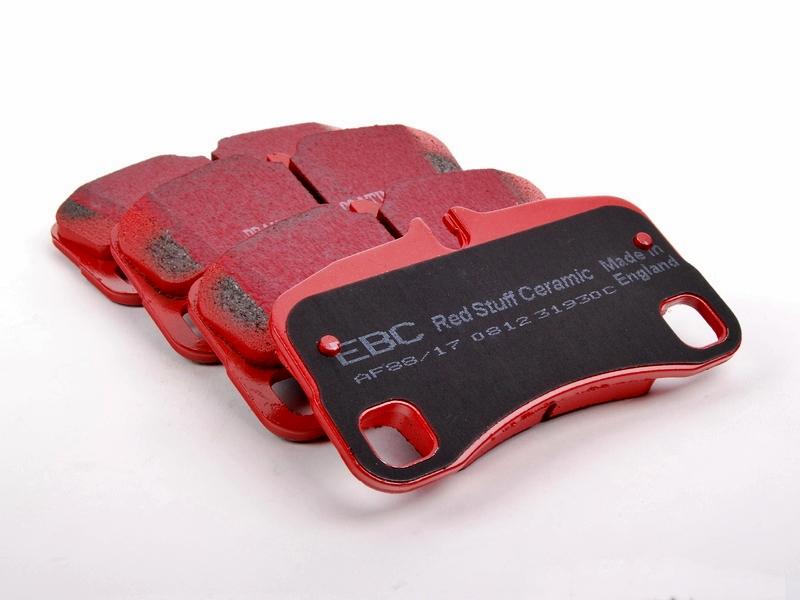 Pastilha de Freio Traseira EBC Redstuff Porsche 911 Carrera