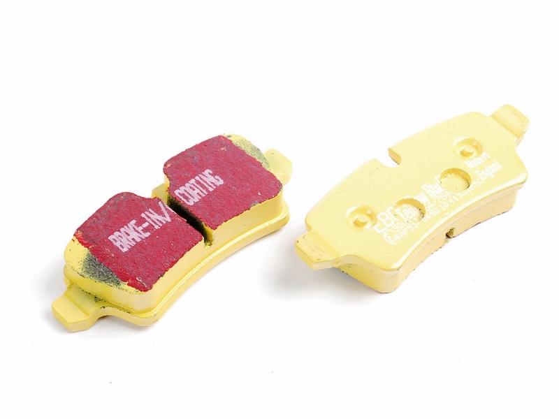 Pastilha de Freio Traseira EBC Yellowstuff Mini Cooper S