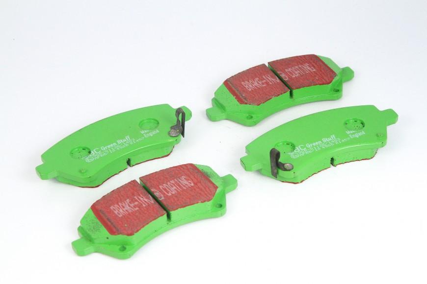 Pastilhas de Freio dianteira Ebc Greenstuff Toyota Fielder e Corolla
