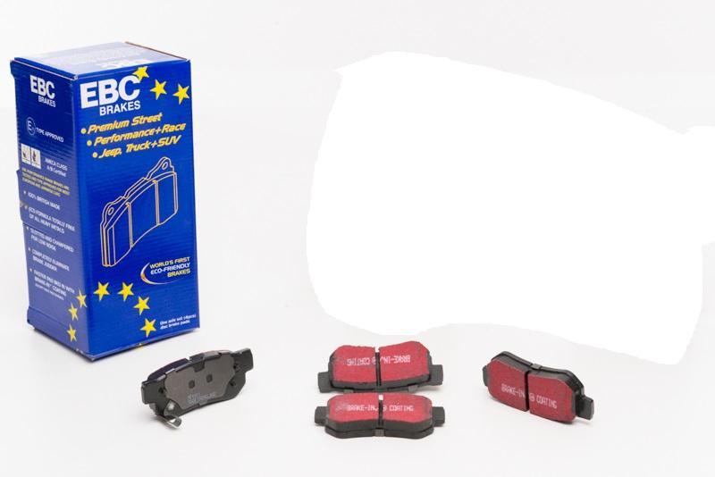 Pastilhas de freio traseira EBC BlackStuff - Azera
