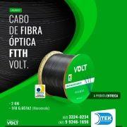 BOBINA DE FIBRA VOLT  VOLT DROP 1FO 2KM