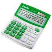 Calculadora com 12 dígitos MV4126 Verde - Elgin