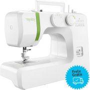 Máquina De Costura Elgin Trendy Jx-3013 Branco/verde 110v