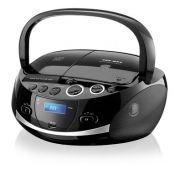 Multilaser Boombox 20W RMS - USB, SD, FM, CD, Dock Station - SP157