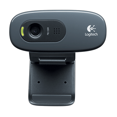 Web Cam 3.0 Mb Hd Usb Logitech C270 960 - 000691 ( Com Microfone Integrado )