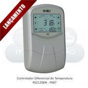 Controlador Diferencial com Timer - RSZ1206N - 127 ou 220VCA - P687