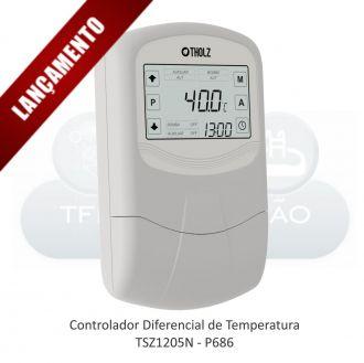 CONTROLADOR PARA AQUECIMENTO SOLAR COM APOIO - TSZ1205N – P686