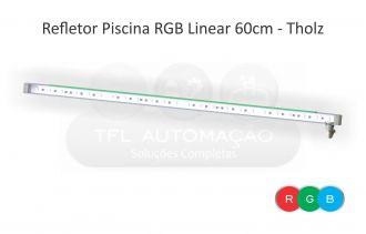 Iluminação Led Para Cascata 60cm Rgb - Tholz