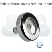 Power LED Branco - 9W - 6.000K - Cabo 10M