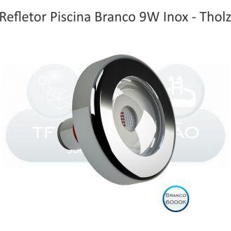 REFLETOR LED BRANCO - CABO 10M - 9W