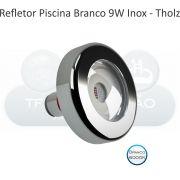 REFLETOR LED BRANCO - CABO 20M - 9W