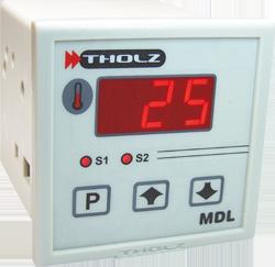 Controlador de Temperatura - MDL370N 90~240Vca P299 - 2 Saídas: Relé 5A e Tensão 12V, Entrada de sensor configurável J, K e PT100
