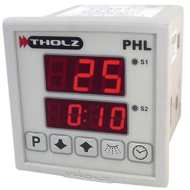 Controlador de Tempo e Temperatura - PHL080N 90~240Vca P235