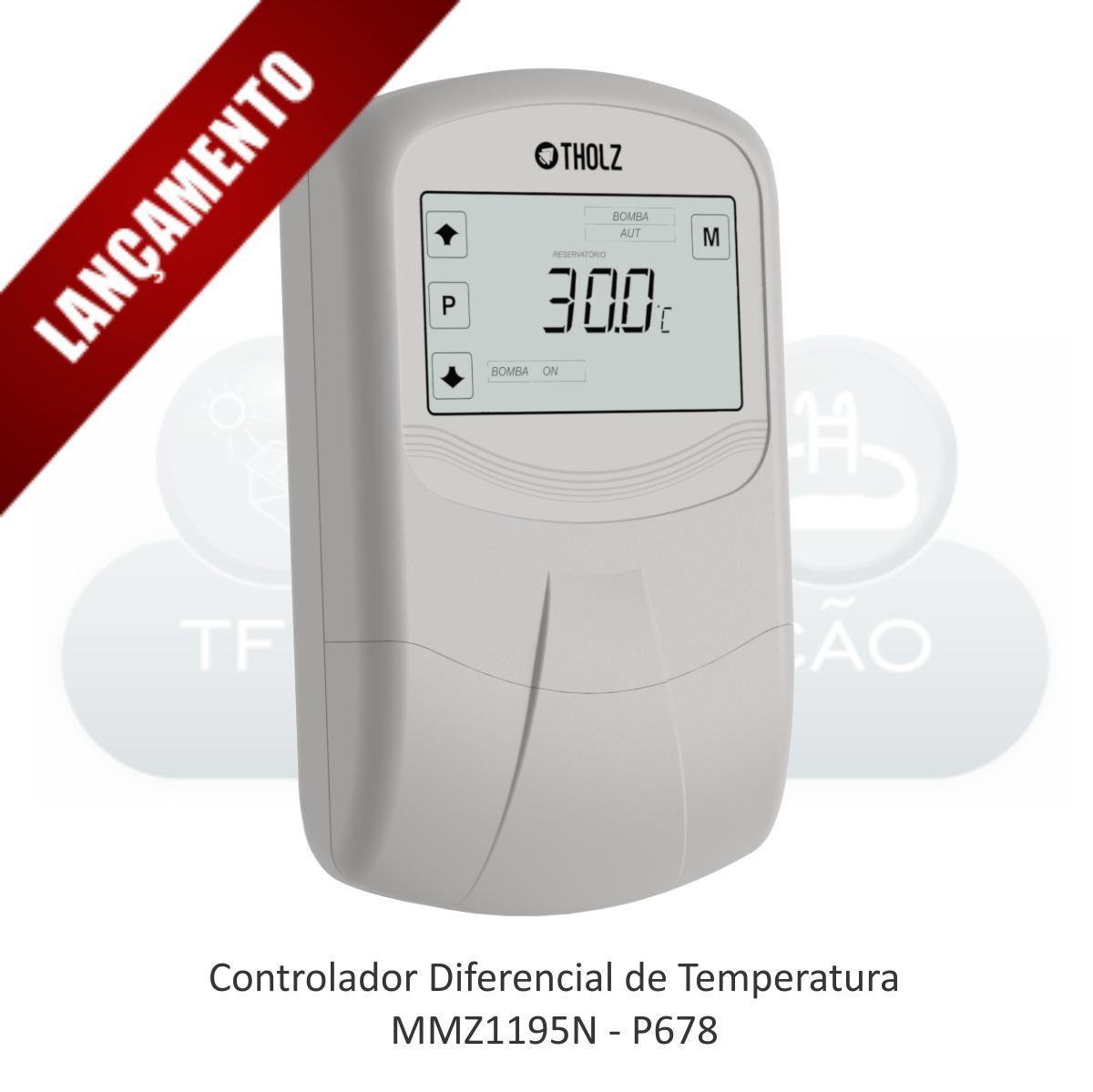 Controlador Diferencial de Temperatura - MMZ1195N - P678 (Substitui MMZ601N)