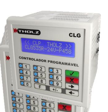 Controlador Lógico Programável - CLG535R - 24Vcc - P458