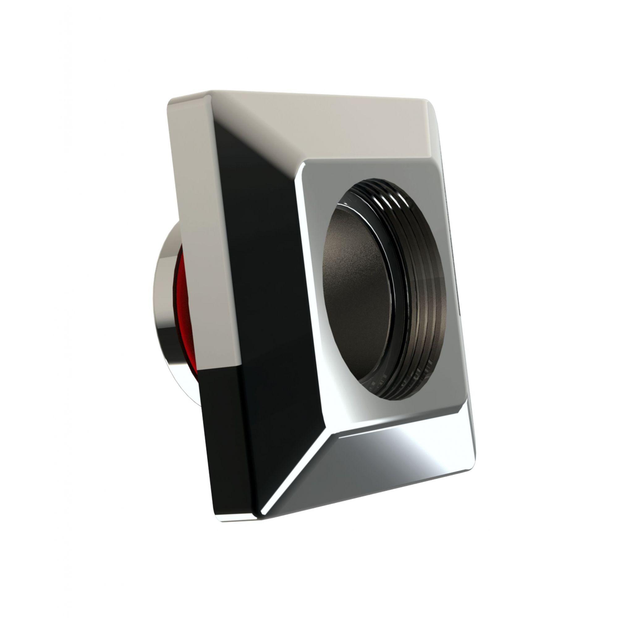 Dispositivo de Aspiração Quadrado Inox - Alvenaria - Tholz