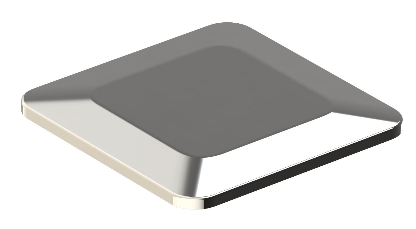 Dispositivo de Dreno de Fundo Quadrado Inox 60mm - Alvenaria - Tholz