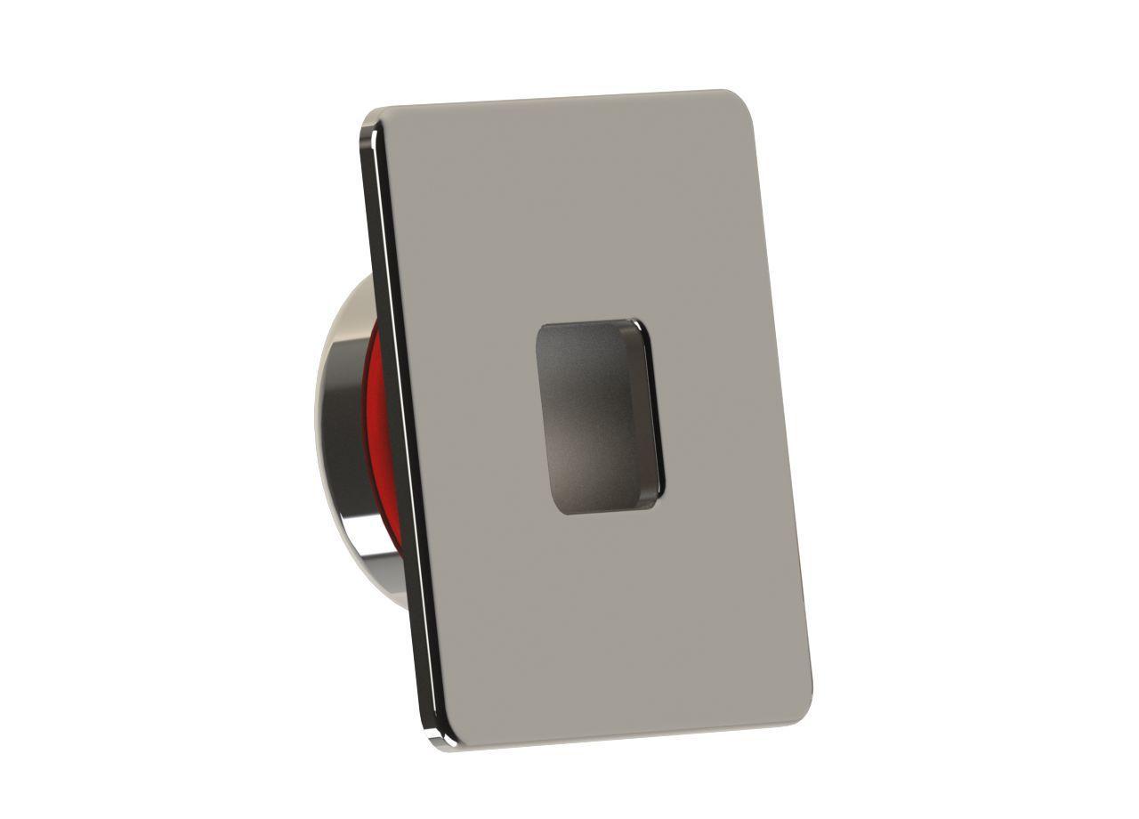 Dispositivo de Retorno Quadrado Inox - Alvenaria - Tholz