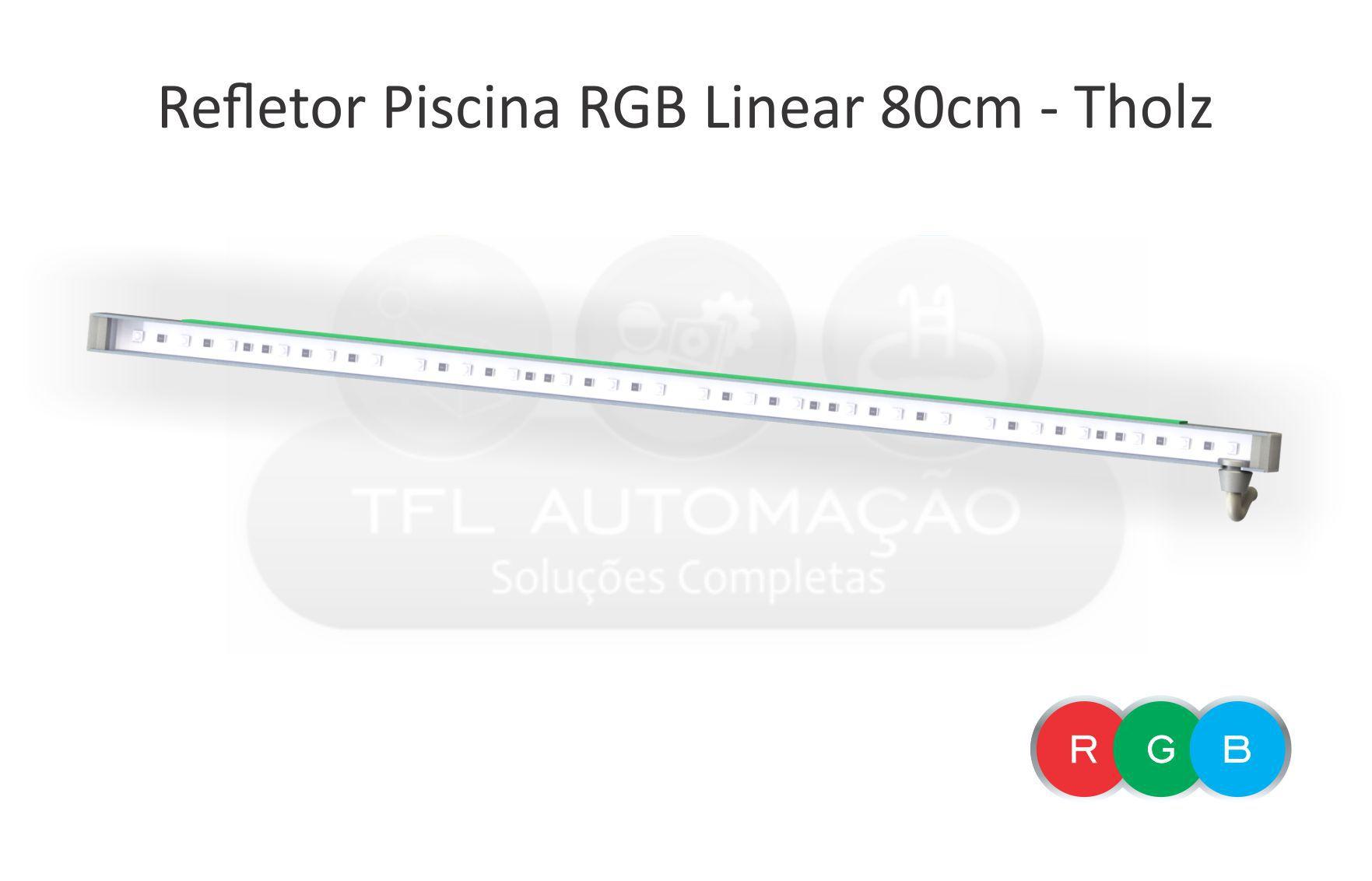 Iluminação Led Para Cascata 80cm Rgb - Tholz
