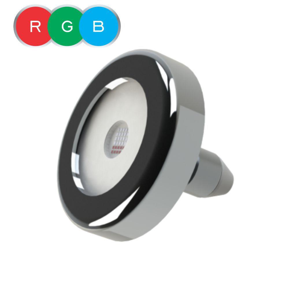 Kit Iluminação Piscina - 03 refletor RGB 18 cabo 20m + 01 Módulo Max touch pool + 01 Transformador tr2