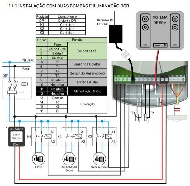 Digipool Touch 90w Tholz - MTZ1233N - 12VCC - P691