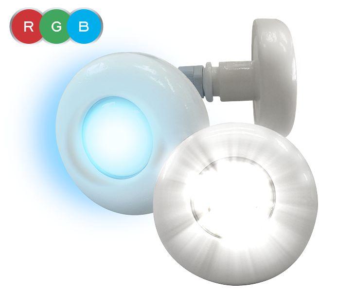 REFLETOR LED RGB - CABO 2M - 3W