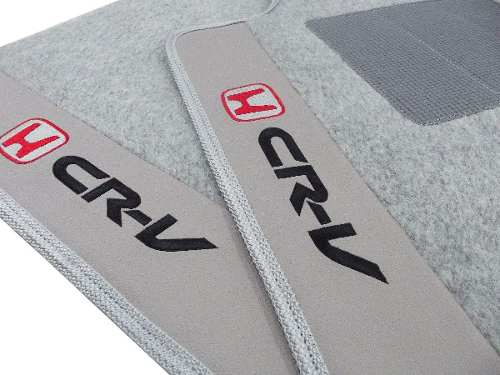 Tapete Honda Crv 2013/... Carpete 8mm Base Pinada