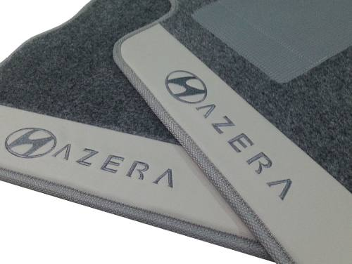 Tapete Hyundai Azera Carpete 8mm Base Pinada