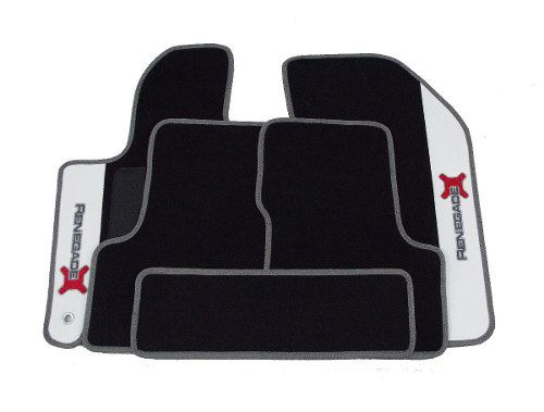 Tapete Jeep Renegade Carpete 8mm Base Borracha Pinada