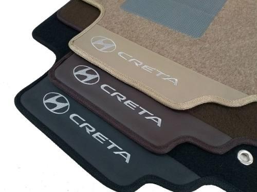 Tapete Hyundai Creta Personalizado Carpete 8mm O Melhor!
