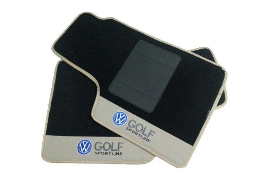 Tapetes Vw Golf Sportline Carpete 8mm Base Pinada
