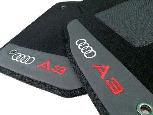 Tapete Audi A3 1997/2006 Carpete 8mm Base Pinada Hitto
