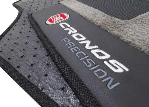 Tapete Fiat Cronos Precision Carpete 12mm Base Pinada- Hitto