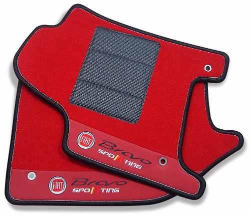 Kit Tapete Bravo Sporting Carpete Premium 12mm Hitto