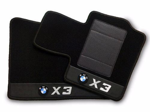 Kit Tapete Bmw X3 Carpete+porta Malas 12mm Base Pinada