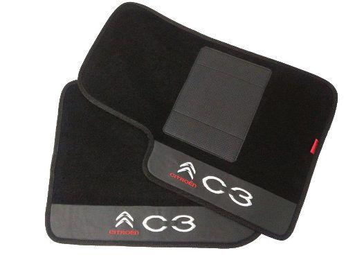 Tapete Citroën C3 Picasso Carpete 8mm Base Pinada Hitto
