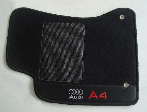 Tapete Audi A6 2005 Carpete 8mm Base Borracha Pinada