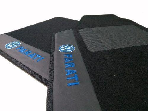 Tapete Vw Parati Carpete Premium 12mm Base Pinada